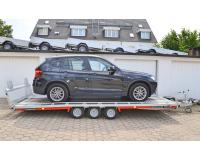 PKW Anhänger Fabrikat Brian James Typ: T6 Transporter - 5,50x2,22 m - 3.500kg Auffahrklappe 10 Zoll