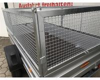 PKW Anhänger Fabrikat Böckmann, Typ Tl-Al 2513/135 mit Gitteraufsatz