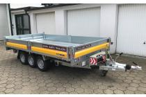 PKW Anhänger Fabrikat Brian James Typ Cargo Tipper 360x195 3,5 t 3 Achser mit E Pumpe