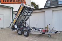 PKW Anhänger Fabrikat Brian James Typ Cargo Tipper 270x160 2,7 t 2 Achser mit E Pumpe