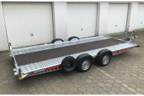 PKW Anhänger Fabrikat Brian James Typ: A4 450x200 2600 Kg inkl. 2,40m Rampen & Schloß