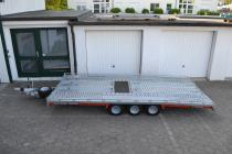 PKW Anhänger Fabrikat Brian James Typ: T6 Transporter - 5,00x2,07 m - 3.500kg 10 Zoll