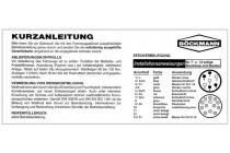 Böckmann Kurzanleitung auf Aluminium