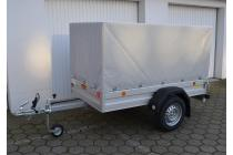 Pkw Anhänger Fabrikat Böckmann Tl-Al 2111/75 mit Plane
