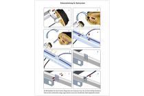 Spülsystem für Tandem, geeignet für Knott Radbremse 20-2425/1
